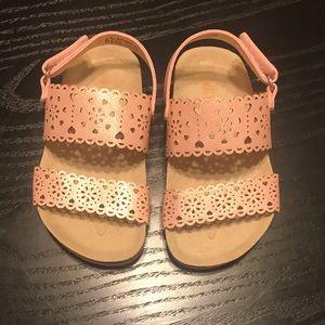 NWOT toddler girl sandals
